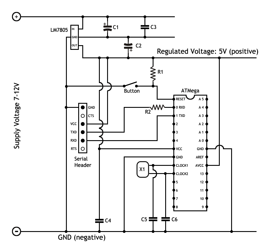 veroboarduino part 2 5 circuit diagram and parts list martyn rh martyndavis com circuit diagram with parts list Simple Circuit Diagrams